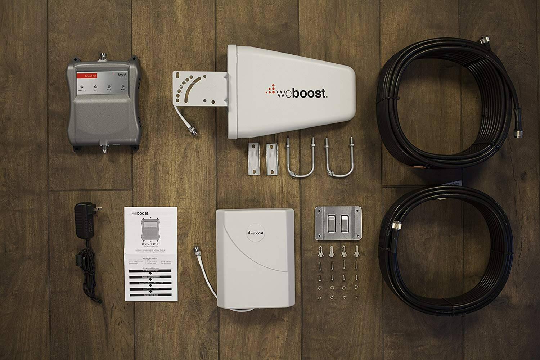 weBoost Connect 4G-X 471104 Усилитель сигнала сотового телефона для дома и офиса - Verizon AT & T T-Mobile Sprint - Увеличьте ваш сигнал до 32x