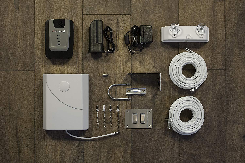 weBoost Home 4G 470101 Усилитель сигнала сотового телефона для дома и офиса - Verizon AT & T T-Mobile Sprint - увеличьте сигнал сотового телефона до 32x