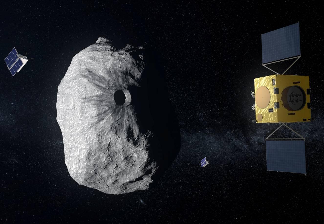 Японский зонд Hayabusa2 успешно добился второй посадки на астероид