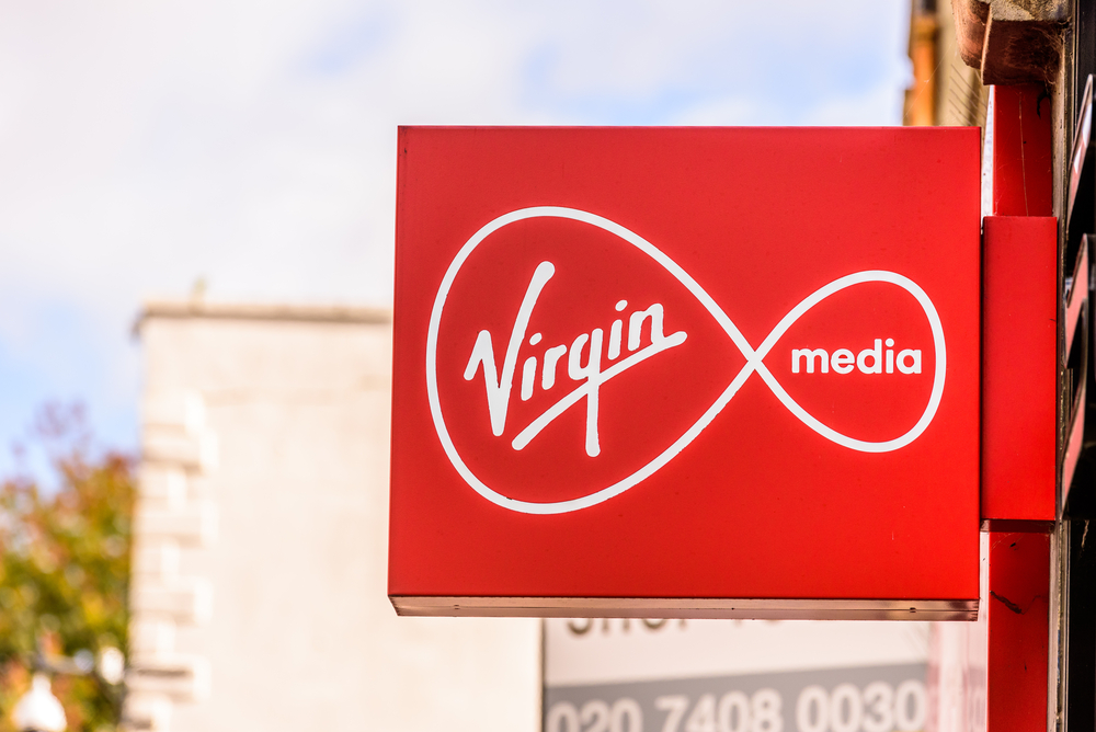 Virgin Media теперь может предоставлять сверхскоростную широкополосную связь 8 Гбит / с 1