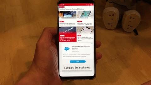 Как включить новые жесты от Samsung Galaxy в одном интерфейсе