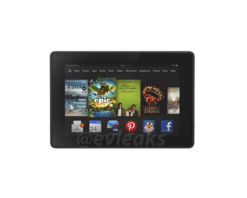 Освеженный Amazon Kindle  На ранних утечках на ранних стадиях виден диапазон огня