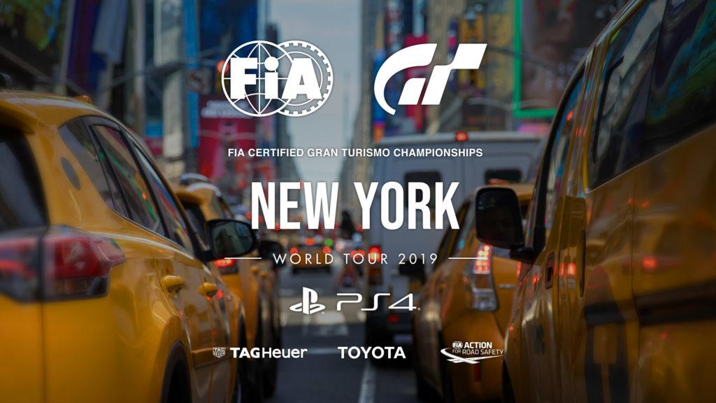 Следите за мировым туром Gran Turismo Sport в прямом эфире из Нью-Йорка