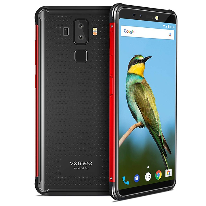 Передняя и задняя часть Vernee V2 Pro