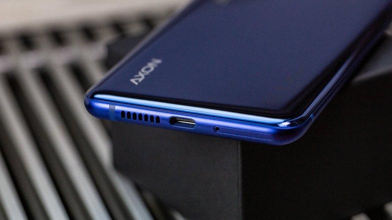 androidpit zte axon 10 pro port