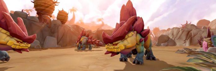 RuneScape получает динозавров в доисторическом обновлении 1