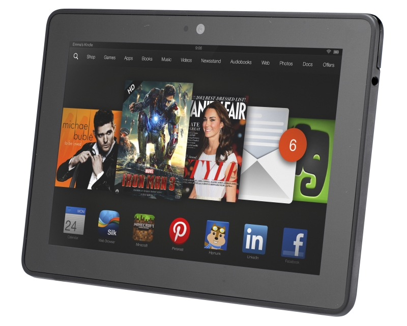 Amazon Kindle  Fire HDX 7 обзор