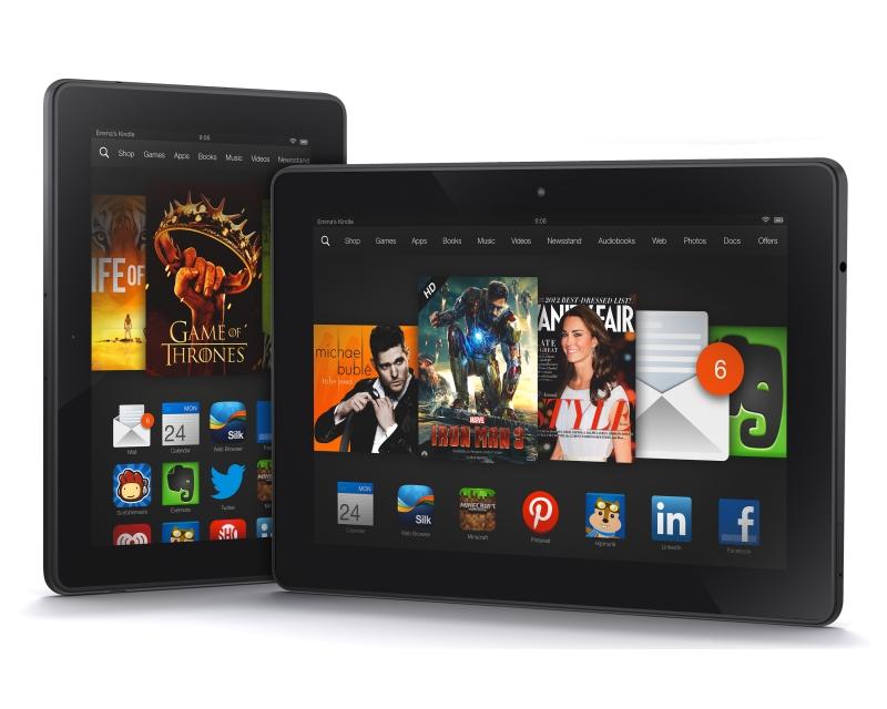Amazon Kindle  Fire HDX появится в Великобритании в следующем месяце