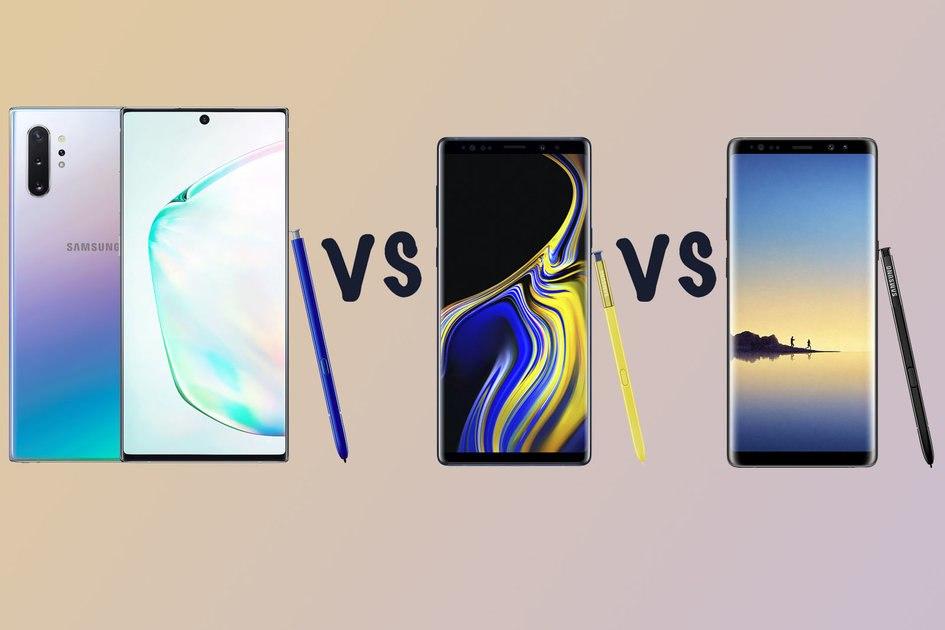 Samsung Galaxy Note  10 против Note 9 против Note 8: вы должны обновить?