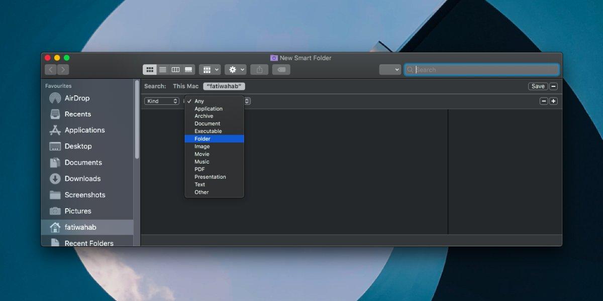 Как добавить последние папки в боковую панель Finder на macOS 1