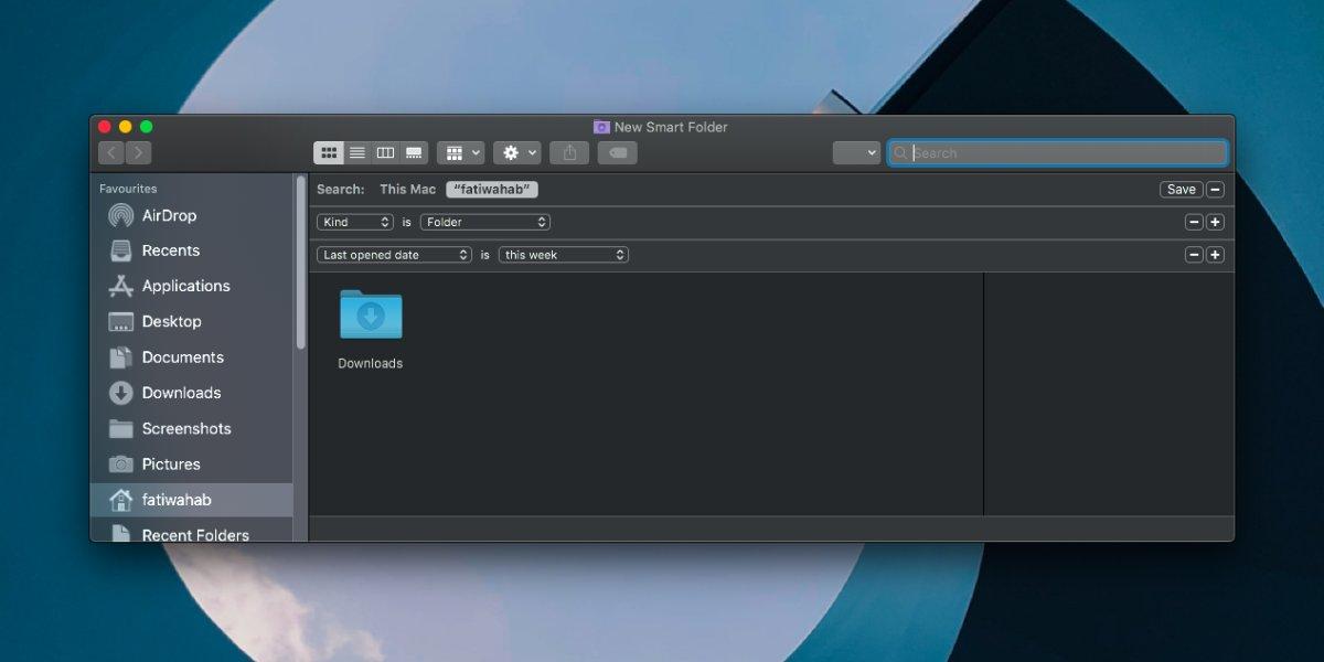 Как добавить последние папки в боковую панель Finder на macOS 2
