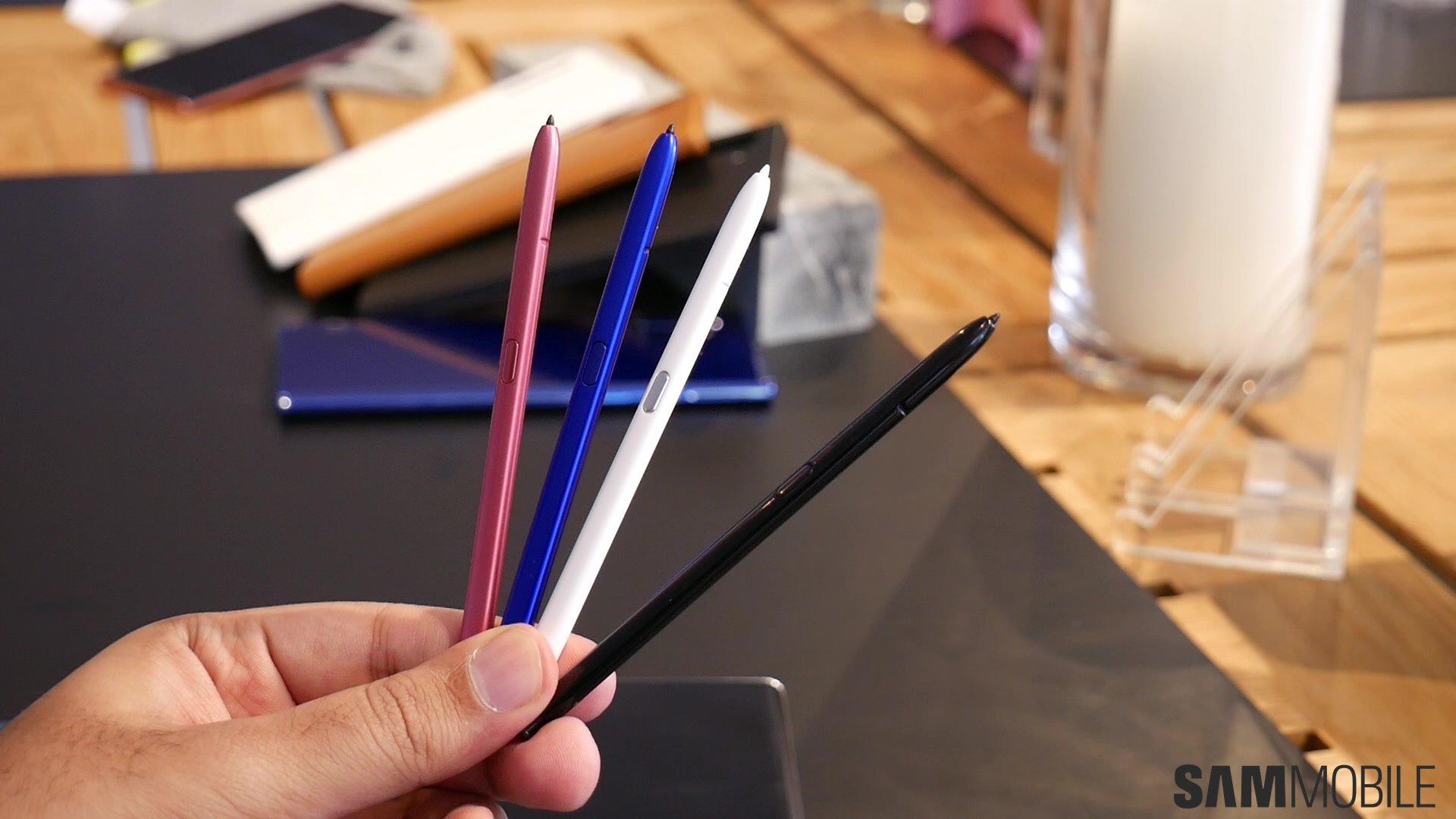 [Video] Galaxy Note  10 /Note 10 Plus практический: 1-2 удара Samsung 3