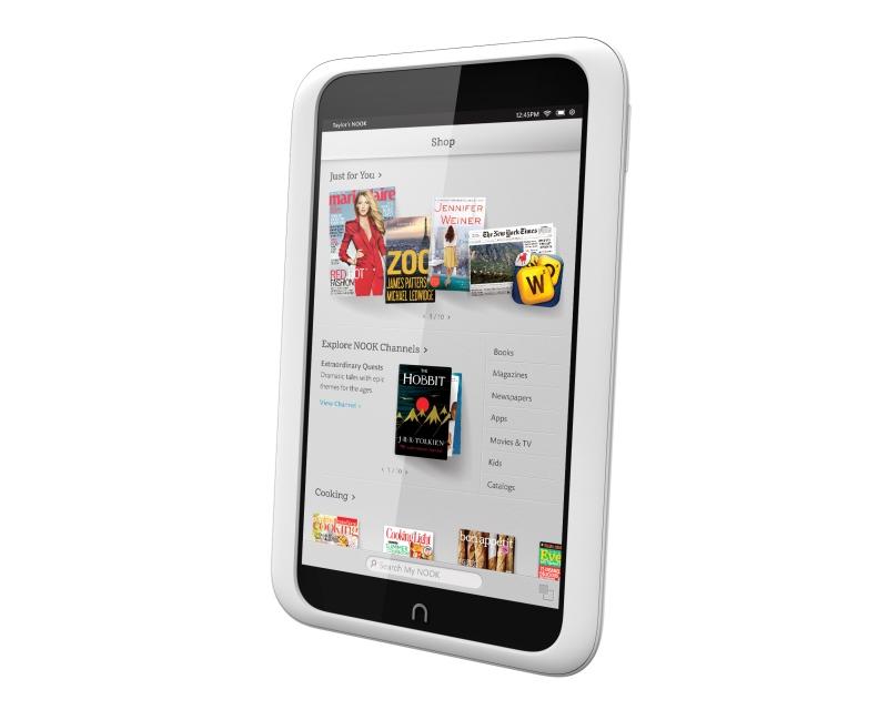 Обзор Barnes & Noble Nook HD