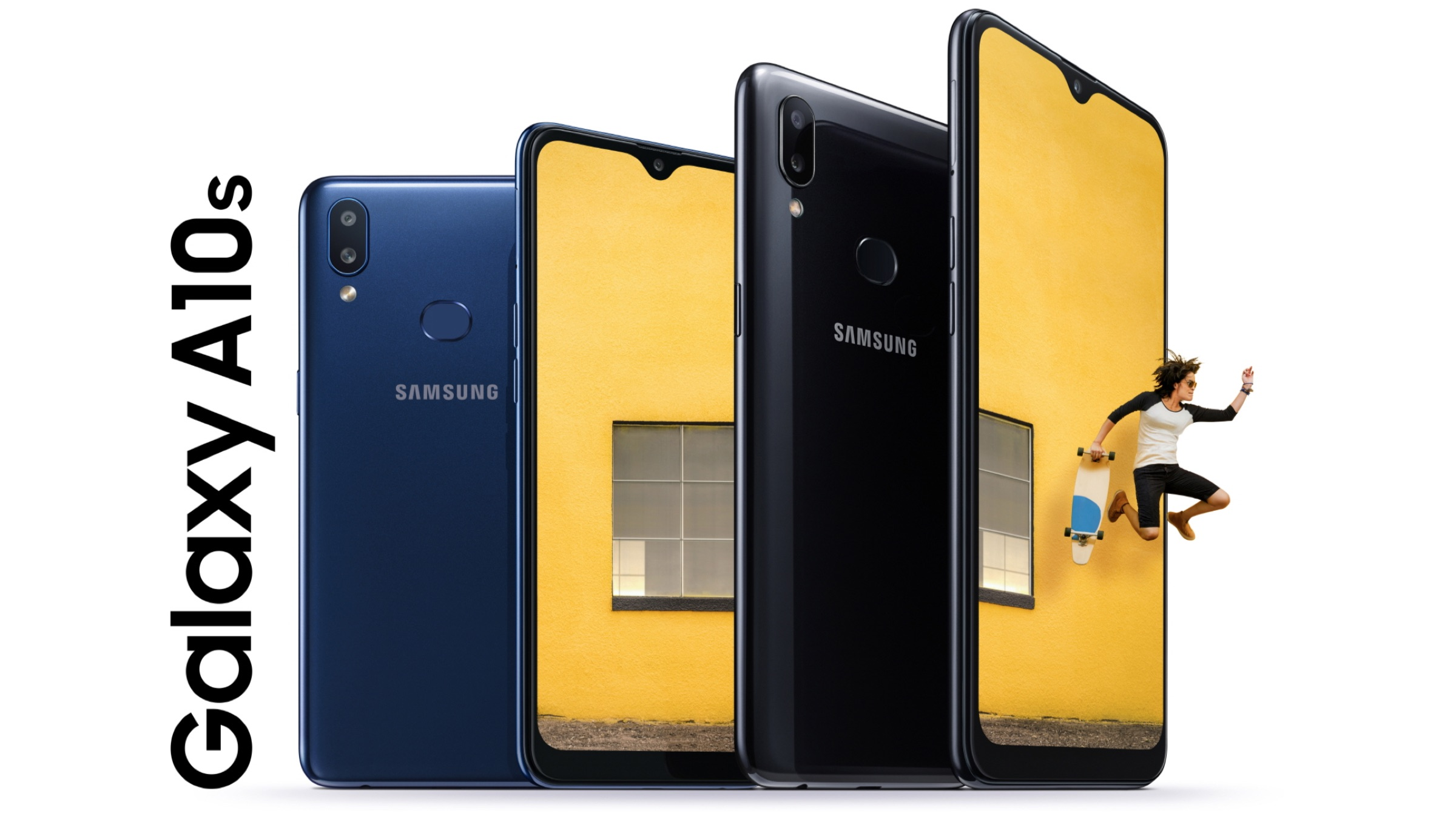 Samsung запускает Galaxy A10s с двумя задними камерами