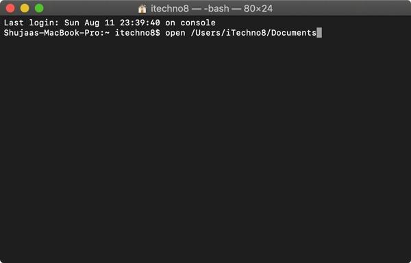 Открыть файл терминальных документов