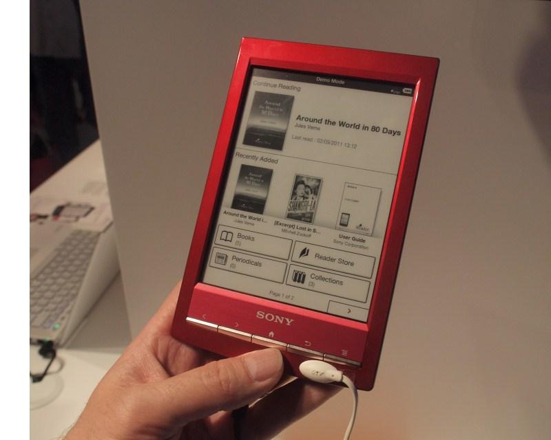 Sony Reader Wi-Fi back