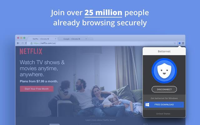 Betternet VPN Extension