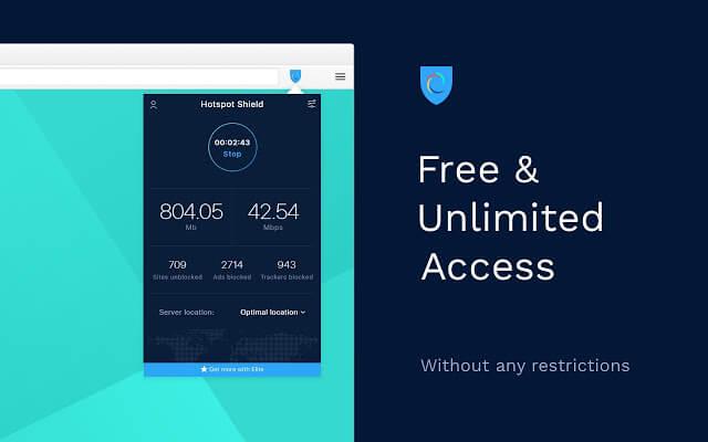 Расширение Hotspot Shield VPN