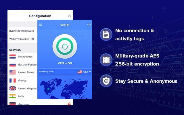 Расширение VeePN VPN