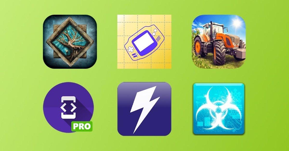 Бесплатные и дисконтные приложения для Android на выходные