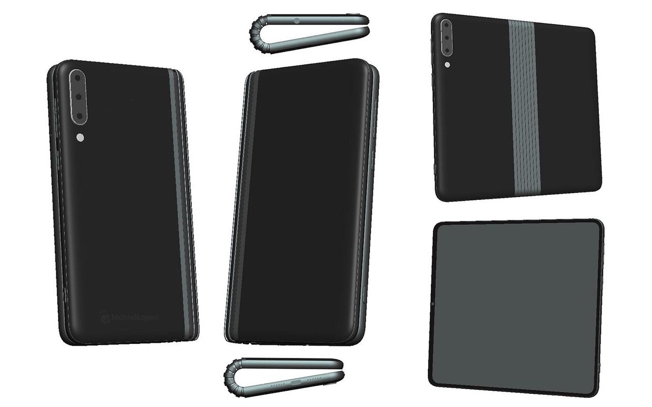 TCL Складной смартфон-планшет в работе, может быть во время IFA
