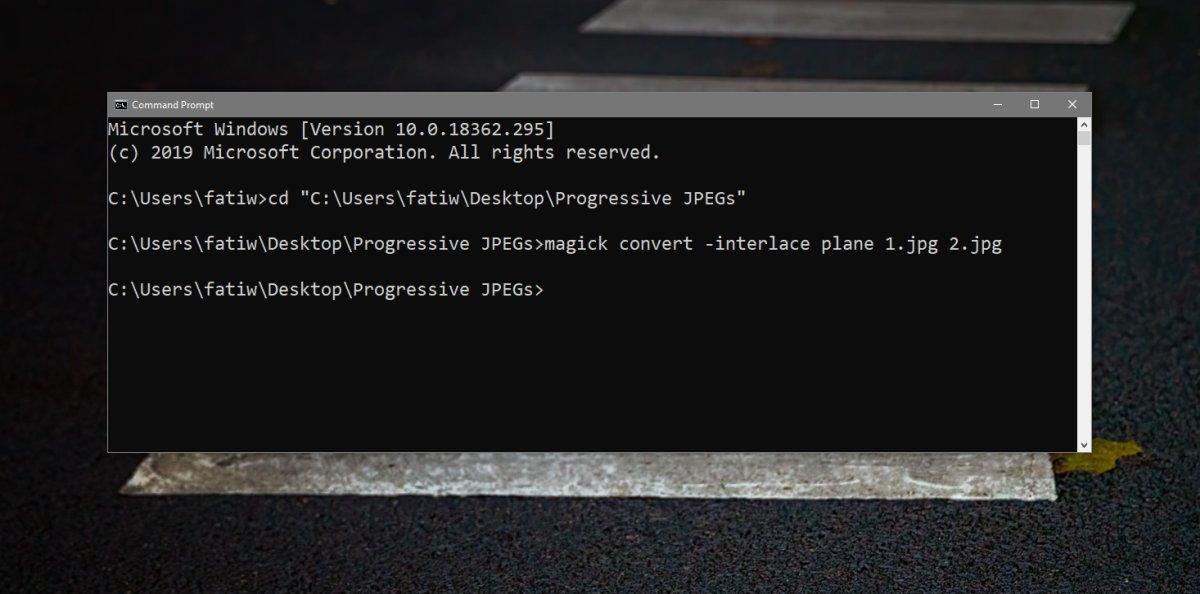 3 способа создания прогрессивного JPEG на Windows 10 1
