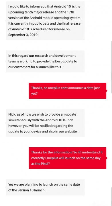 Смартфоны OnePlus 7 и 7 Pro должны одними из первых получить Android 10 1