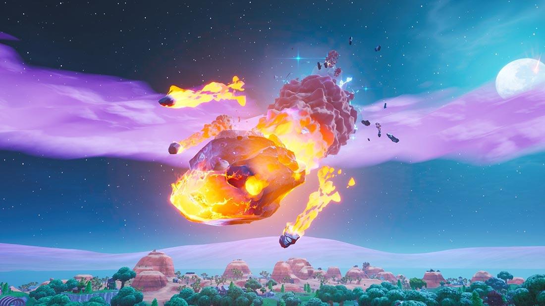 Как выполнить миссию «приземлиться в Dusty Depot и посетить метеор в одной игре»