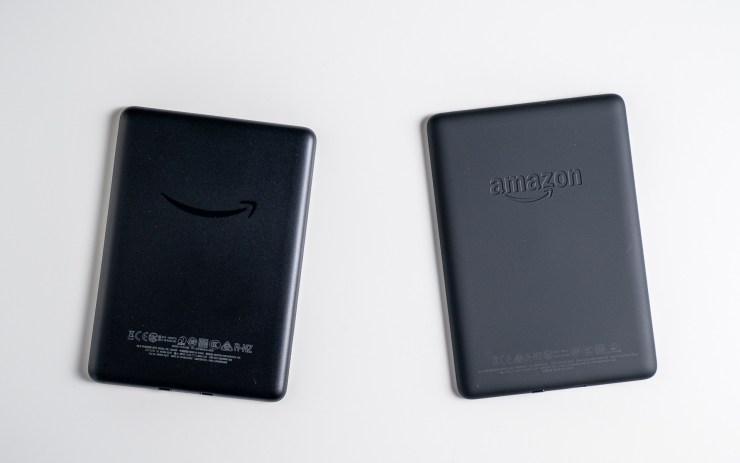 Amazon Kindle  против Paperwhite Design