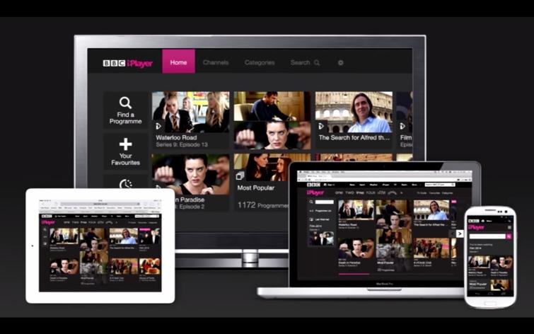 BBC iPlayer обновлен на Android, iPhone и iPad