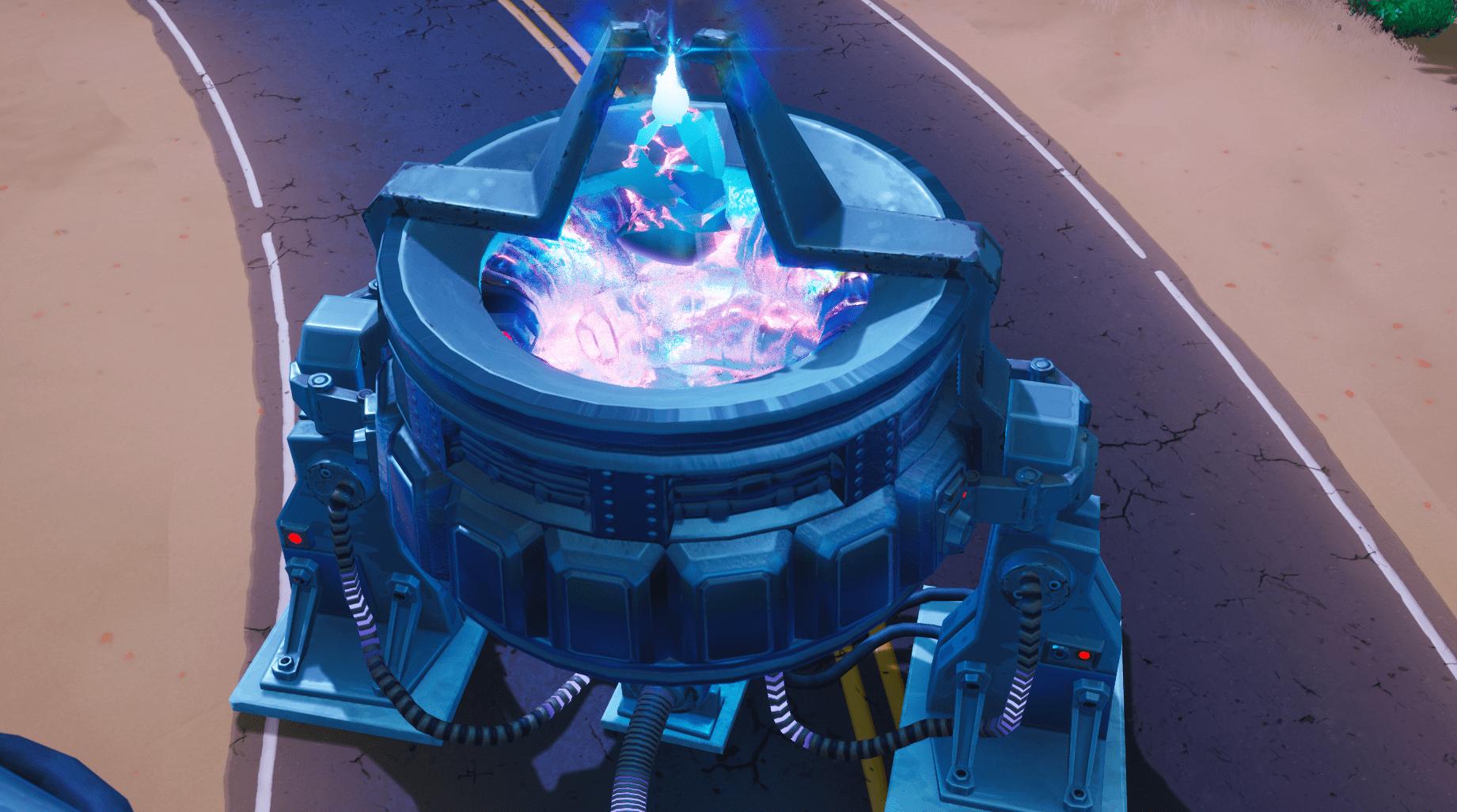 Fortnite  Rift Beacon в пустыне теперь активирован