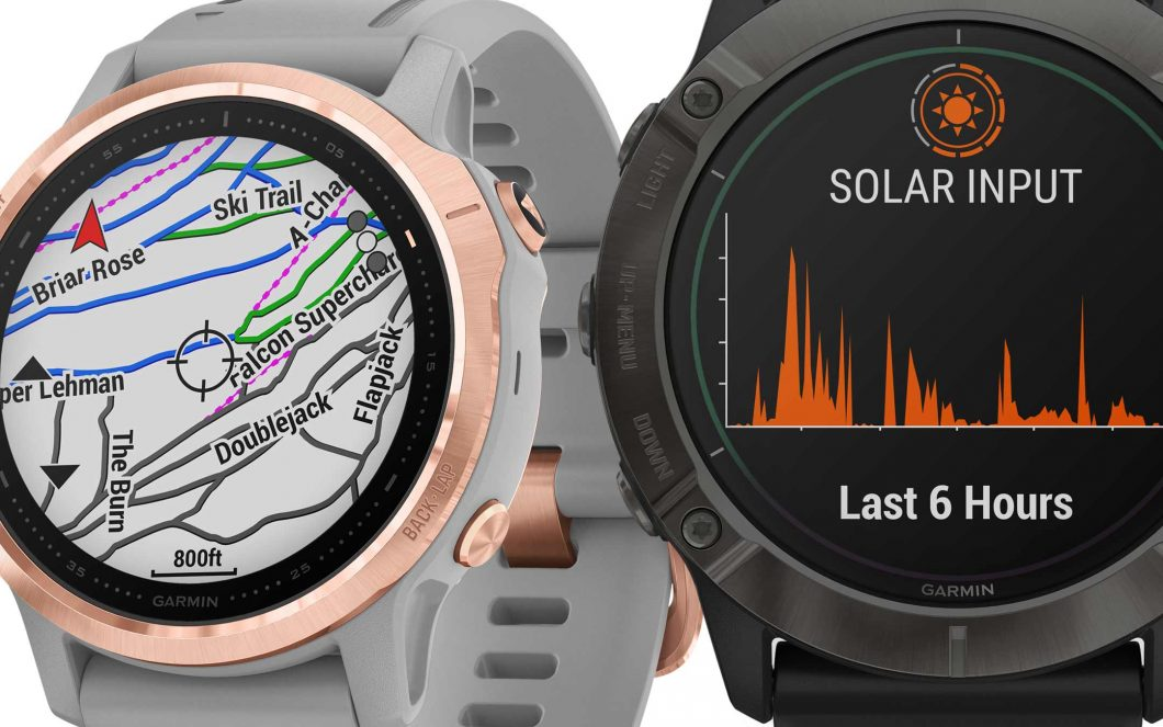 Garmin Fenix 6: умные часы с солнечным зарядом 1