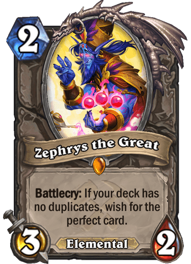 Hearthstone: Как на самом деле работает Зефрис Великий?