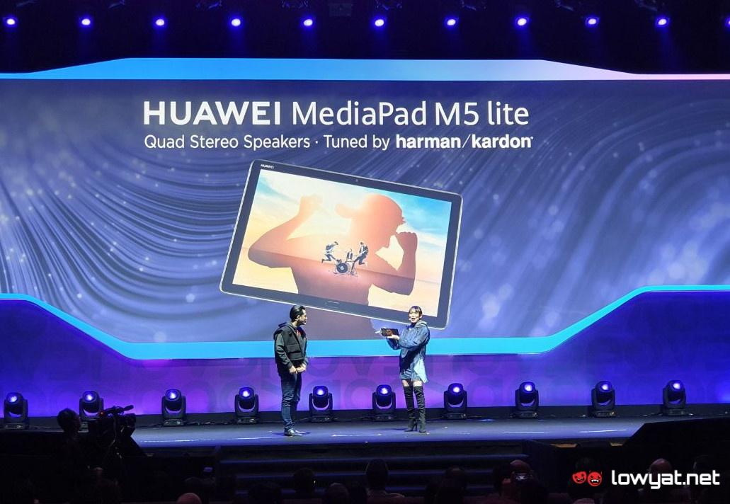 Huawei MediaPad M5 Lite будет доступен в Малайзии за RM 1299