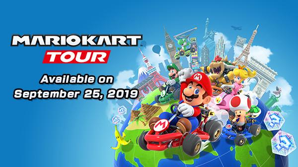 Mario Kart Tour стартует 25 сентября