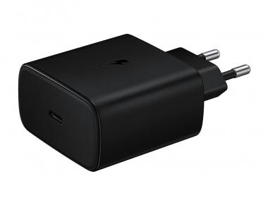Зарядное устройство EP-TA845 от Samsung имеет функцию быстрой зарядки до 45 Вт. Galaxy Note  10, чтобы зарядить быстро. | (с) Samsung / Areamobile