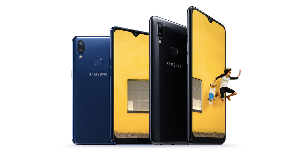 Samsung Galaxy A10s with fingerprint sensor and dual rear cameras announced