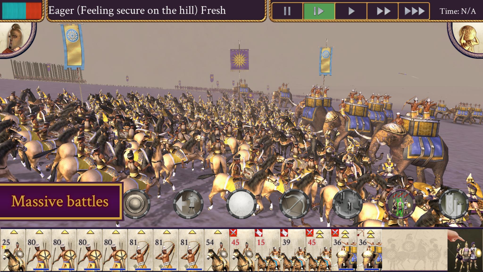 «Rome: Total War - Александр», который доступен на iPad прямо сейчас, наконец-то имеет подтвержденную дату выпуска для устройств iPhone и Android