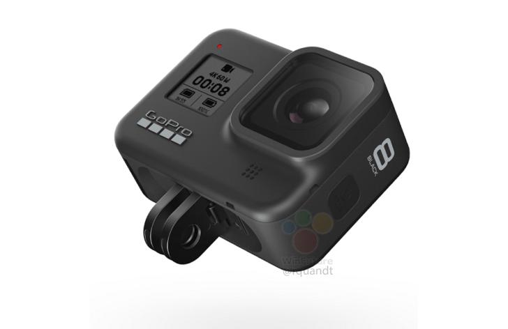 Больше GoPro Hero 8 Черная поверхность утечек; Аксессуар медиа-модуля добавляет две горячие ботинки 1