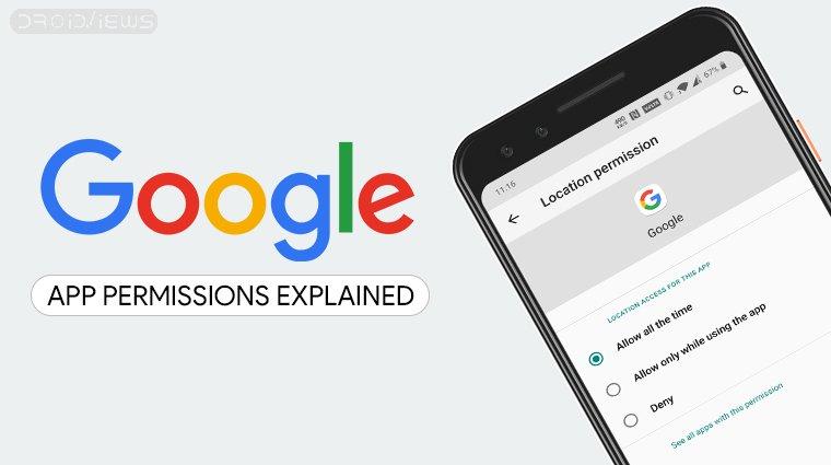 google app permissions