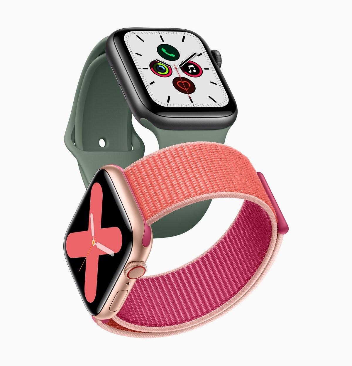 Встретить AppleПоследний носимый, Apple Watch Серия 5