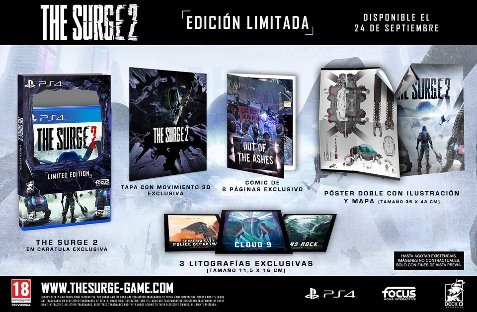 В продаже The Surge 2 для PS4, Xbox One и ПК