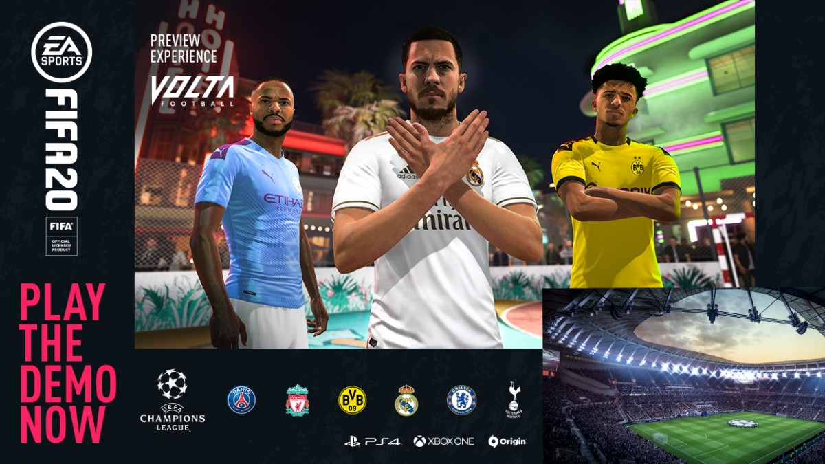FIFA 20 Demo for PlayStation 4, Xbox One, and PC is Now Live Ahead of September 27 Release