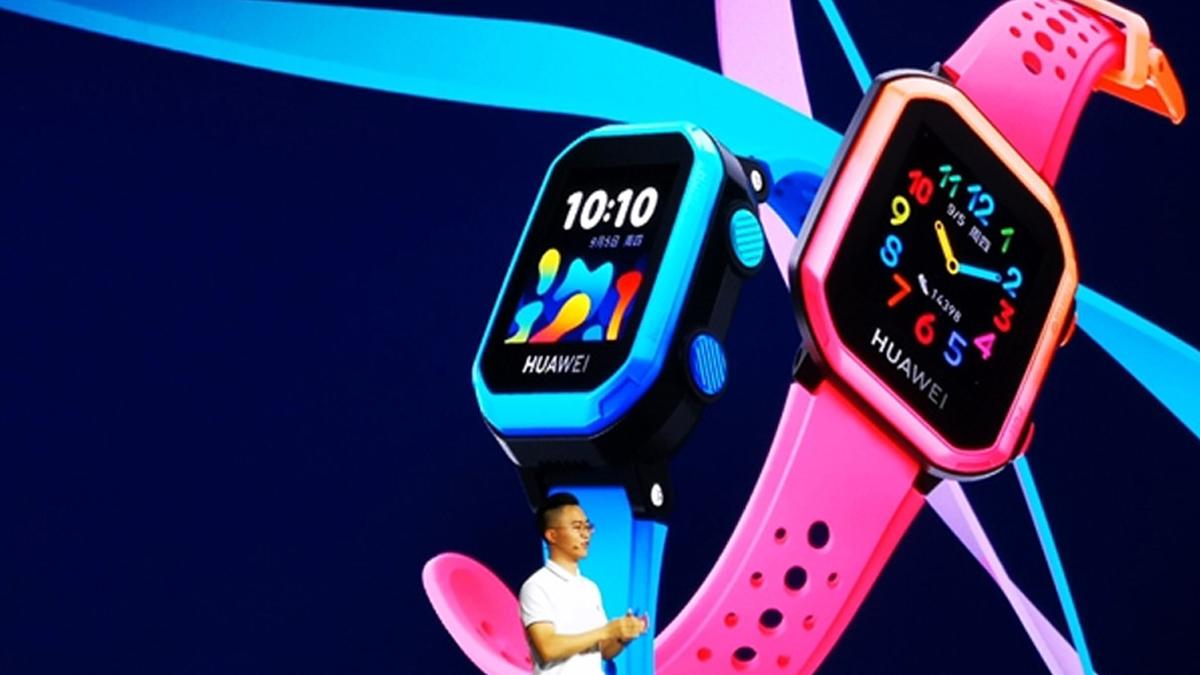 Детские часы Huawei 3s выпущены с использованием водонепроницаемой технологии 1