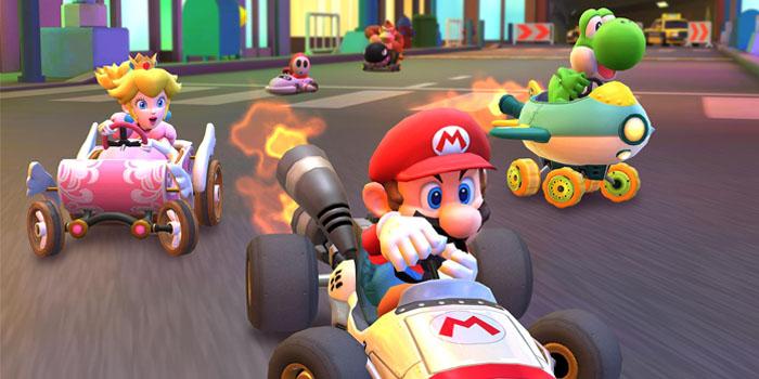 Если элемент управления Mario Kart Tour кажется неточным, отключите эту опцию
