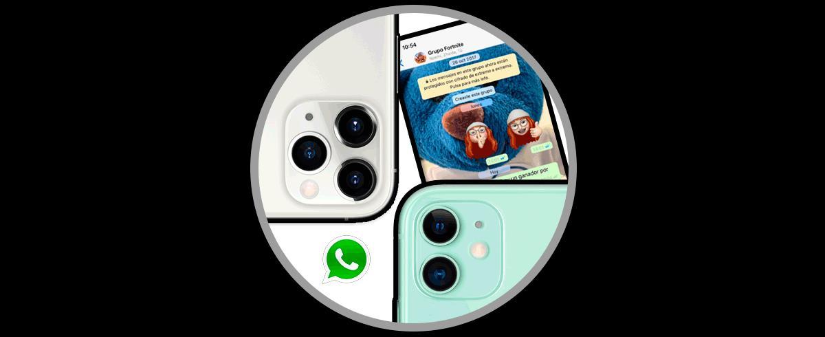 Как изменить обои WhatsApp для iPhone 11, iPhone 11 Pro или iPhone 11 Pro Max