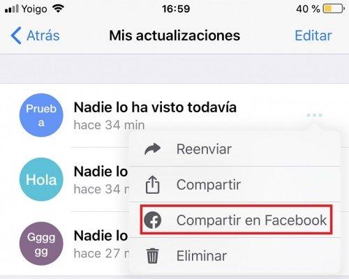 Изображение - Как поделиться статусом WhatsApp в истории Facebook