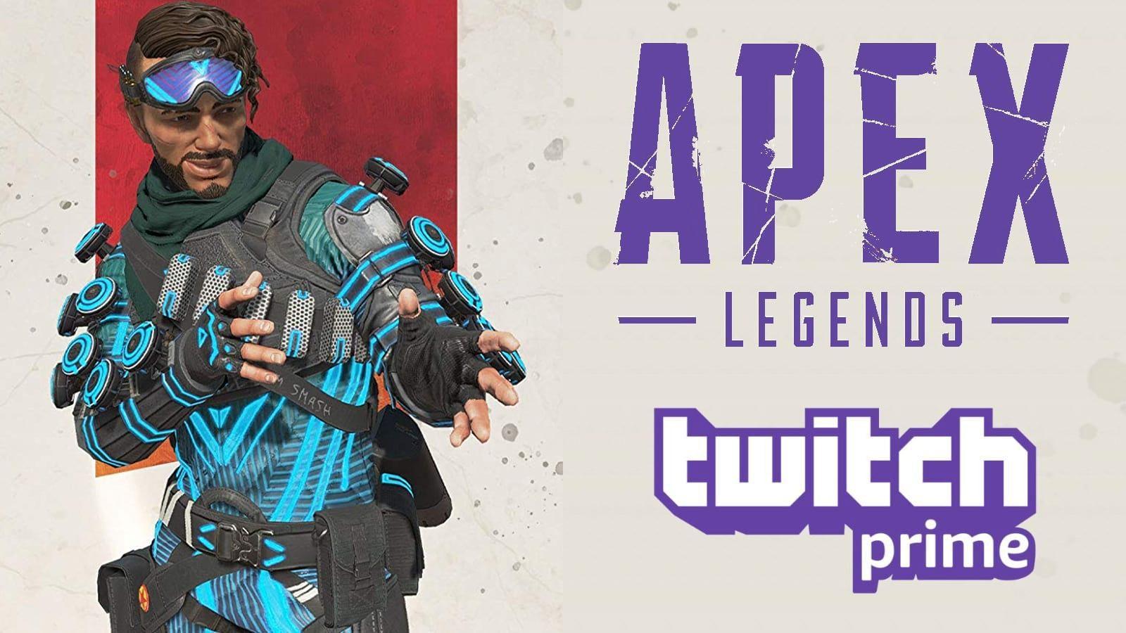 Как получить скин Holo Man Mirage Twitch Премьер в Apex Legends бесплатно