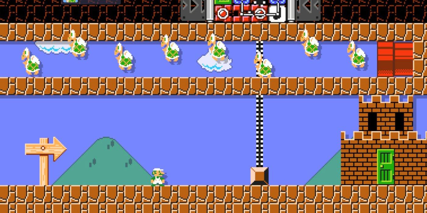 Кому-то удалось устроить утиную охоту в Super Mario Maker 2