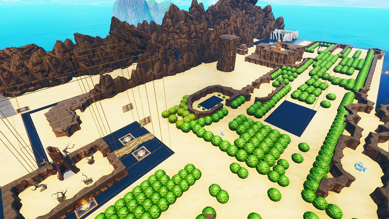 Легенда о Zelda переделана в Fortnite созидательный
